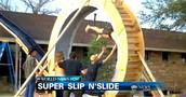 A super slip and slide