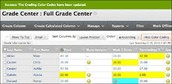 Blackboard Grade Center - Smart View