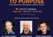 Join us live to discuss how business can become a force of good by partnering with customers to co-create lasting social impact.