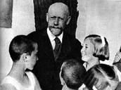 יאנוש קורצ'ק וילדיו בבית היתומים