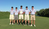 Varsity shot 317 at tough course to win today's tourney & secure GAC Season Title after an undefeated regular season