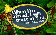 "September verse: ""Psalm 56:3"""