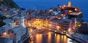 Cinque terre -Ligurijsko more - Severna Italija