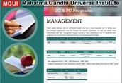 Management Programme Lucknow