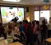 Celebrating being 100 days smarter with some Just Dance!