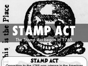 Stamp act of 1765