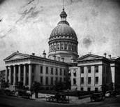 St. Louis' Old Courthouse in 1862, five years after the Dred Scott decision