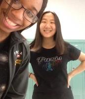 Christine and I