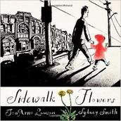 Sidewalk Flowers, by JonArno Lawson