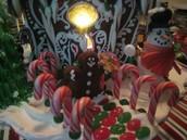 Gormet Gingerbread houses and cookies