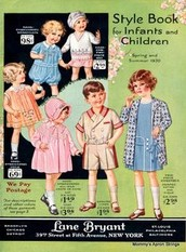 Children's Clothing in the 1930's