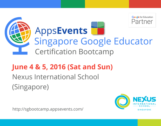 Singapore Google Educator | Smore Newsletters