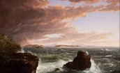 Rocky Waters Across The Bay