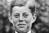 Kennedy en su niñez