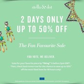 For only 2 days grab a fabulous discount!