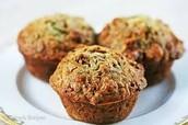 Easy Bake Zucchini Muffins