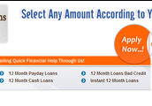 Loans Over 12 Months No Fees-12monthloanssamedayuk.co.uk