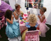 Roselawn Library and the Newton County Fair Queen invite you to a tea party.