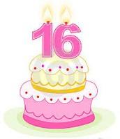 Cuando tengo 16 años voy a tener una fiesta para mi 16 dulce cumpleaños.
