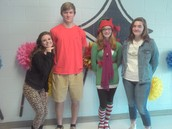 Kristen Nygaard, Cailynn Miller,Hannah Bradley, and Andrew Place