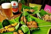 Fresh Balinese food