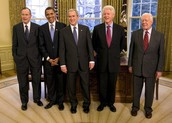 5 Presidents of the U.S.