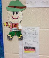 Samantha's Gingerbread Girl from Germany