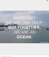 Together we make a team..