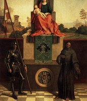 The Madonna with Saint Francis and Liberale