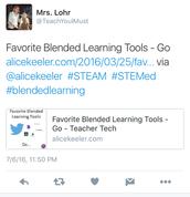 #blendedlearning