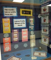Learner Profile Winners of the Month Showcase