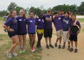 DMS Students Help With Elementary Field Day
