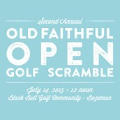 You're invited to join YPF's Second Annual Old Faithful Open Golf Scramble!