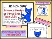 PETE'S SHOE TYING CLUB