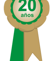 Insignia 20º Aniversario