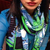 Union Square Ikat Scarf $29.50
