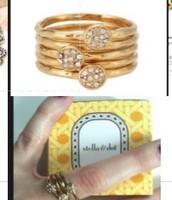 Paloma Stack Ring, size 9; orig. $39; sale $18
