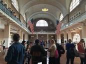 Ellis Island waiting room