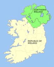 Is Ireland part of the U.K?