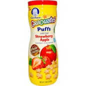Puffs dry cereal