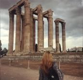 Cassie Takes Greece!
