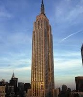 Empire state building was finished