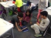 3rd Grade Experimenting with Force and Motion!!