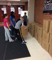 Great job on the food drive!