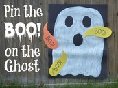PIn the Boo on the Ghost!