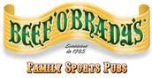 Beef O'Brady Night Wednesday 5-8