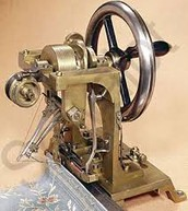 The First Sewing Machine