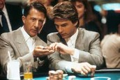 Charlie and Raymond gambling