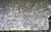 George Burroughs Grave