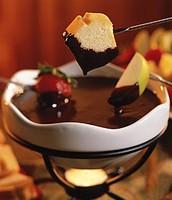 fondue fresa
